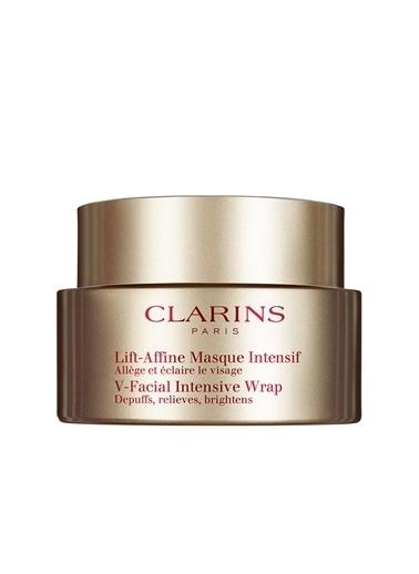 Clarins Clarins Tüm Ciltler İçin Yüz Bakım Kremi - V-Facial Intensive Wrap 50 ml Renkli